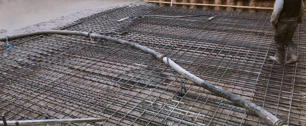 Holland Park concrete foundation