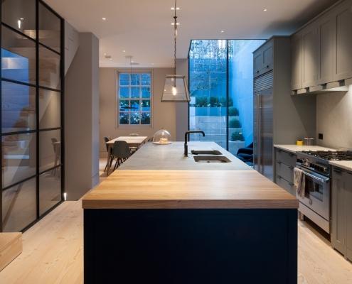 Camden Grove Basement Kitchen