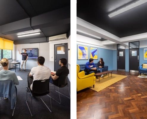 Bayswater College classroom areas