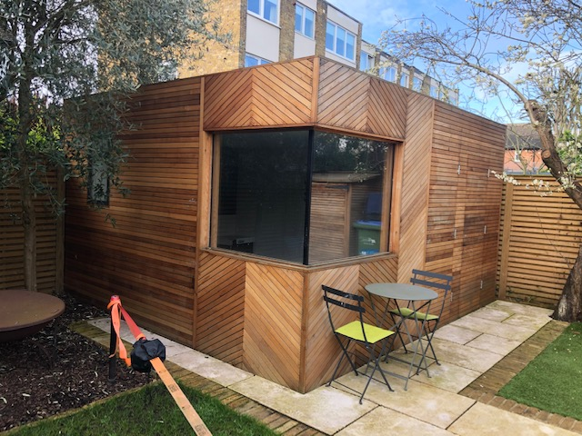 Garden Office Shed / Pod - Complete