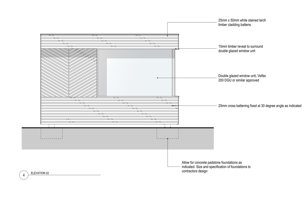 Garden Office Shed / Pod - Drawing 3